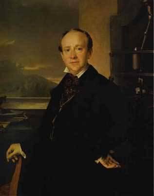 Vasily Tropinin Portrait of N A Selivanovsky