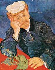 Portrait Du Dr Gachet - Vincent Van Gogh