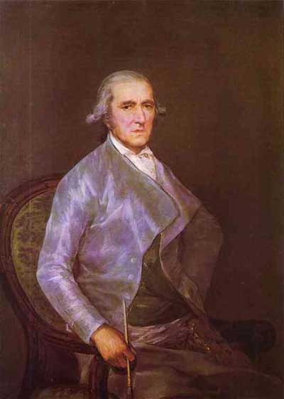 Francisco de Goya y Lucientes Portrait of Francisco Bayeu