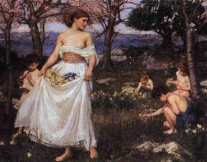 A Song of Springtime - John Waterhouse