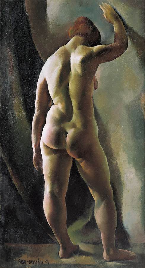 ABA NOVAK Vilmos Nude Study