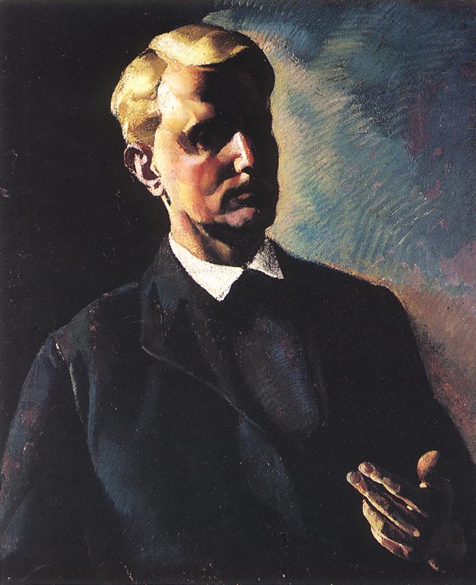 ABA NOVAK Vilmos Portrait of a Man