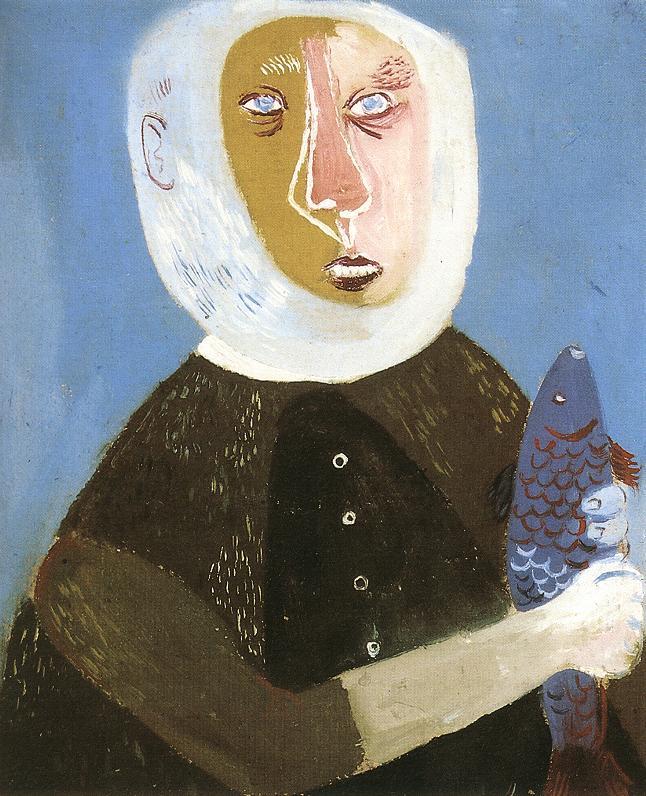ANNA Margit Grey haired Fisherman