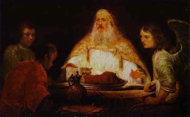 Aert de Gelder Abraham and Angels