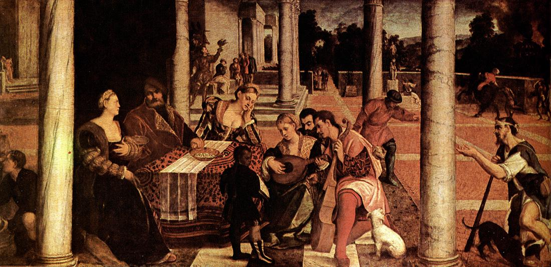 BONIFACIO VERONESE Dives and Lazarus