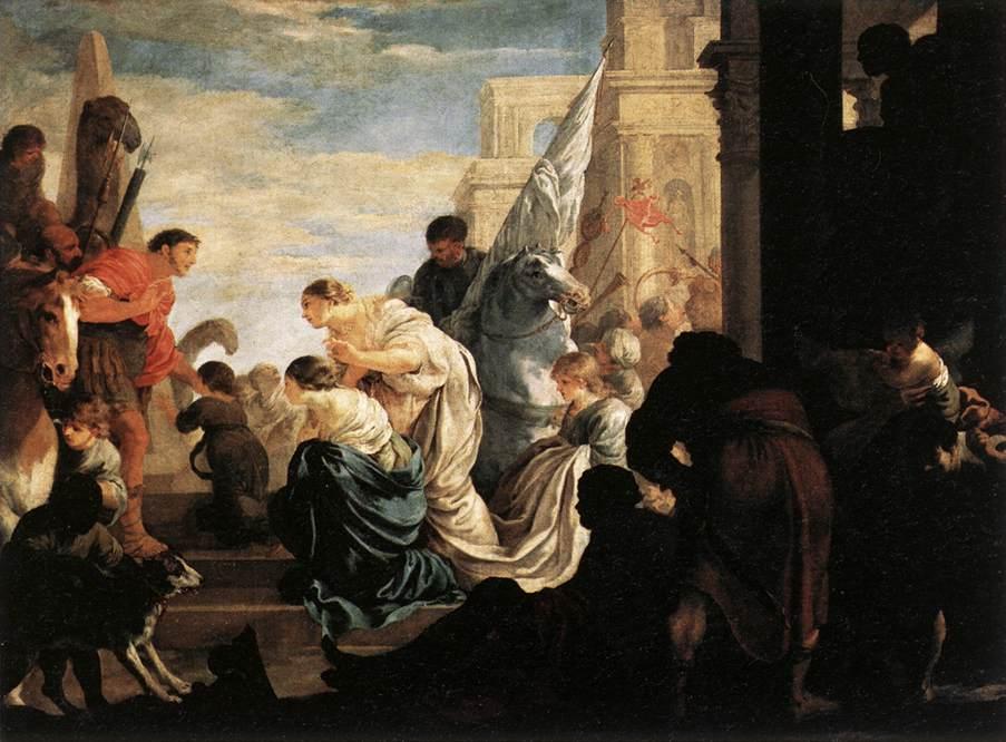 BOURDON Sebastien A Scene from Roman History