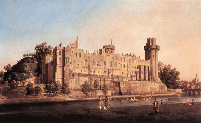 Canaletto Warwick Castle the South Front