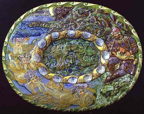 Decorative Plate Sadko