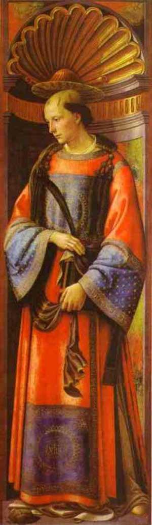 Domenico Ghirlandaio St Stephen