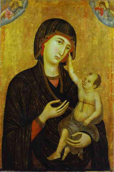Duccio di Buoninsegna Crevole Madonna