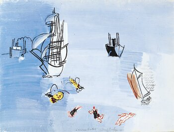 Dufy Raoul La Mer Vers
