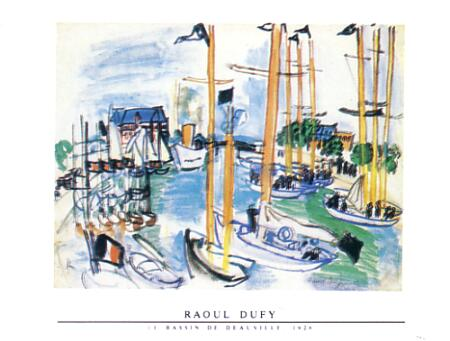 Dufy Raoul Le Bassin De deauville