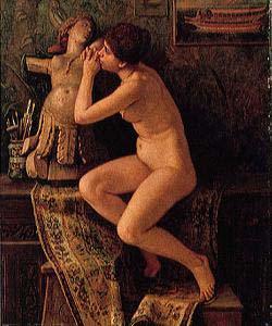 Elihu Vedder The Little Venetian Model