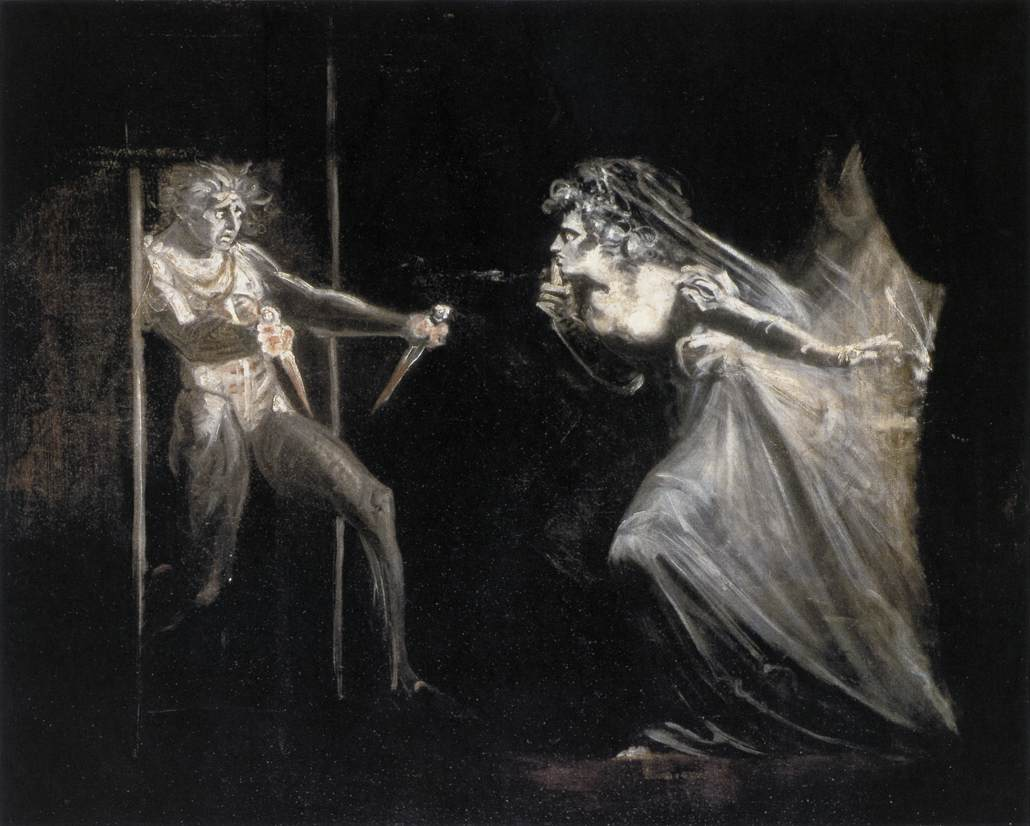 FUSELI John Henry Lady Macbeth with the Daggers