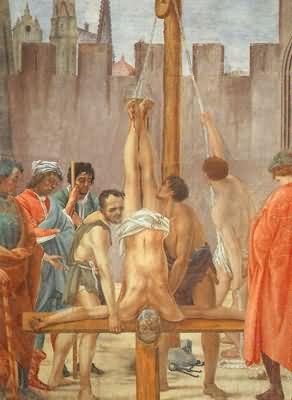 Filippino Lippi The Crucifixion of Peter