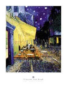 Framed - Cafe Terrace - Vincent Van Gogh