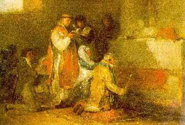 Francisco Goya The Ill Matched Couple