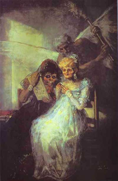 Francisco de Goya y Lucientes Time of the Old Women