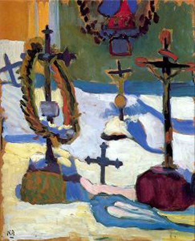 Gabriele Munter Tombstones in Kochel