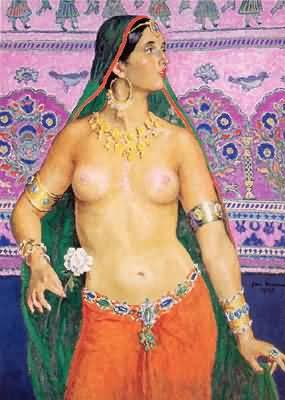 Gari Melchers Hindu Dancer