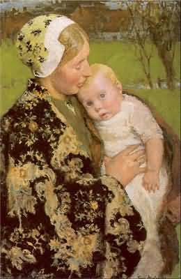 Gari Melchers Motherhood