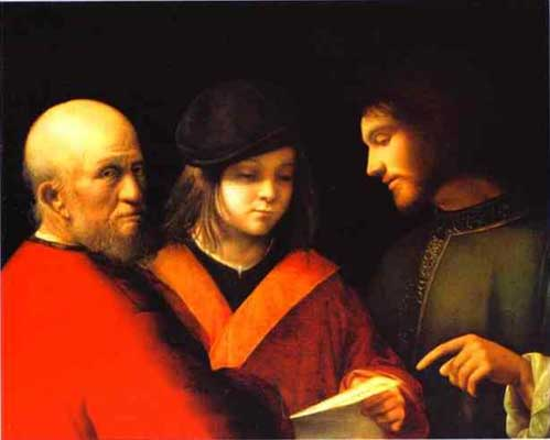 Giorgione The Three Ages of Man