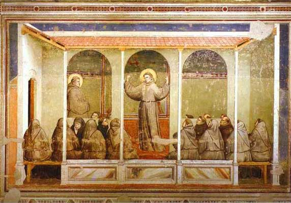 Giotto Apparition at Arles