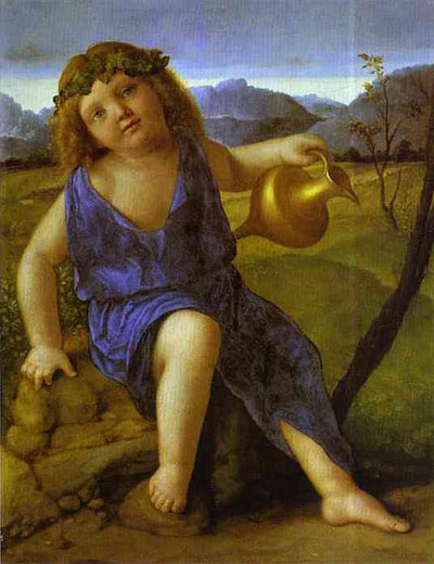 Giovanni Bellini The Infant Bacchus