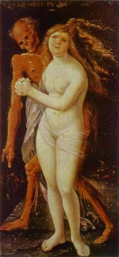 Hans Baldung Girl and Death
