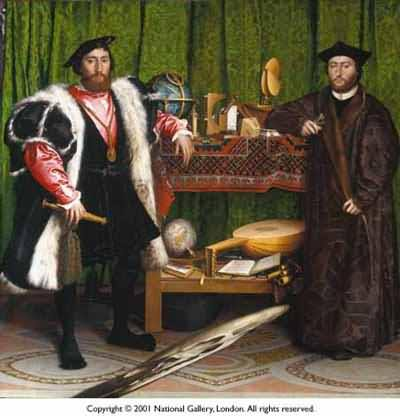 Hans Holbein the Younger The Ambassadors