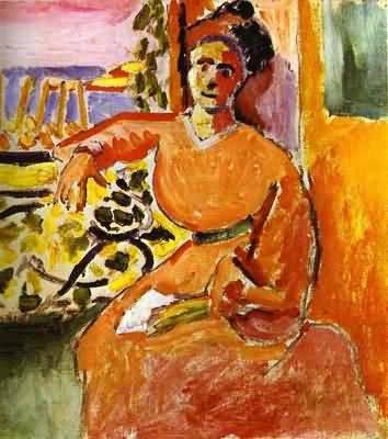 Henri Matisse A Woman Sitting before the Window