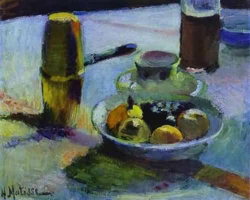 Henri Matisse Fruit and Coffee Pot