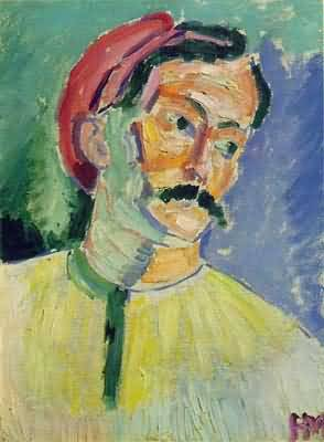Henri Matisse Portrait of Andre Derain