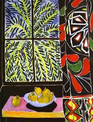 Henri Matisse The Egyptian Curtain
