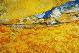 Il mietitore - Vincent Van Gogh