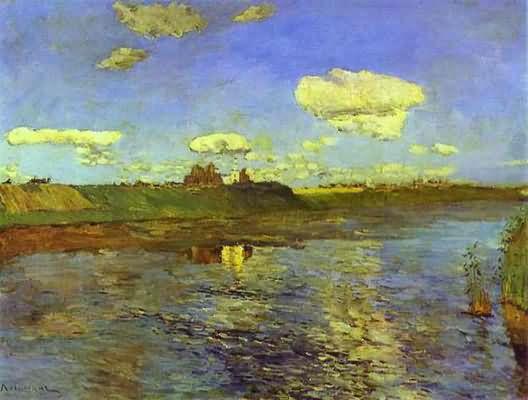 Isaac Levitan The Lake