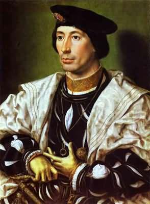 Jan Gossaert A Nobleman Adolphe of Burgundy