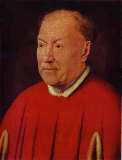Jan van Eyck Portrait of Cardinal Niccolo Albergati