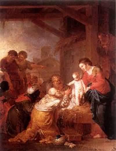 Januarius Johann Rasso Zick The Adoration of the Magi