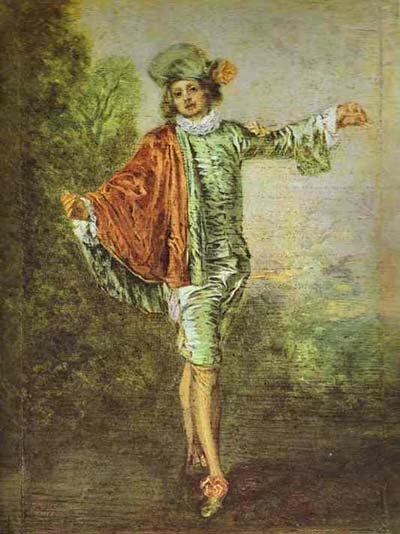 Jean Antoine Watteau L Indifferent The Casual Lover