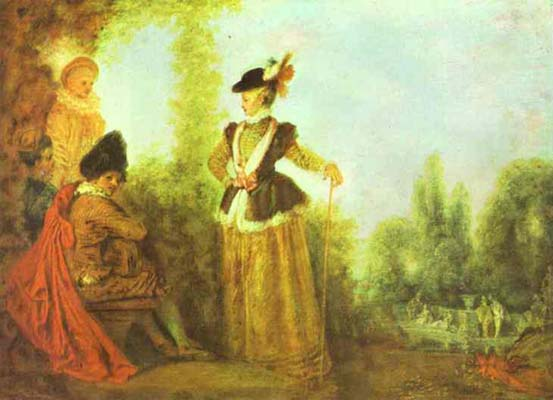 Jean Antoine Watteau The Adventuress