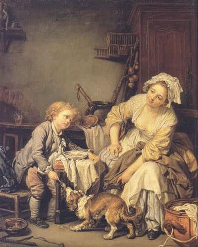Jean Baptiste Greuze The Spoiled Child