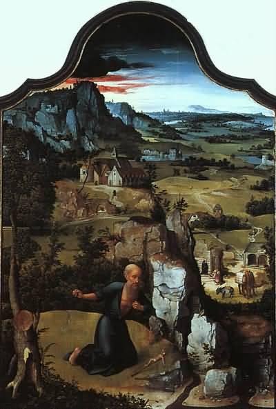 Joachim Patinir Triptych central panel