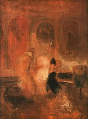 Joseph Mallord William Turner Two Women and a Letter