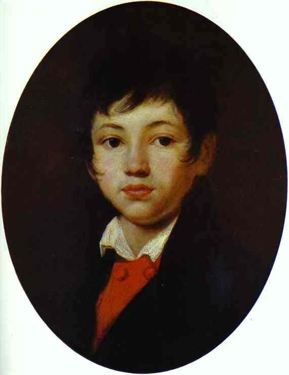 Kiprensky Orest Portrait of A A Chelischev C