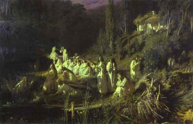 Kramskoy Ivan Mermaids