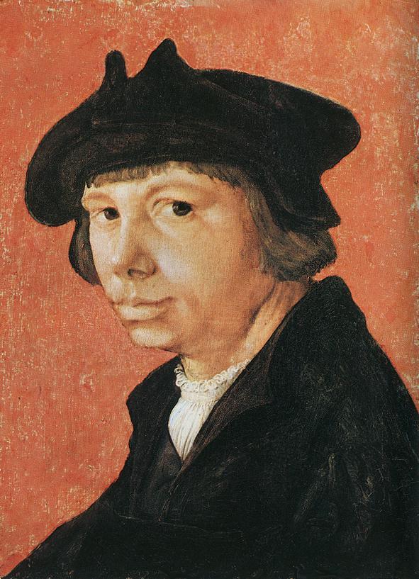 LUCAS van Leyden Self portrait