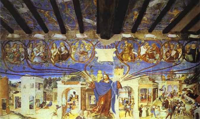 Lorenzo Lotto The Legend of St Barbara