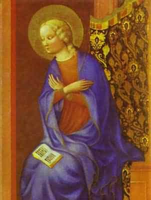 Masolino da Panicale The Virgin Annunciate