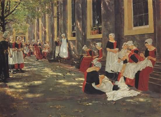 Max Liebermann The Orphanage at Amsterdam